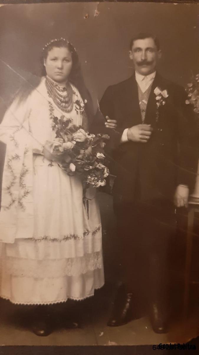 Aniela-i-Franciszek-Zawislak-1918