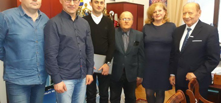 Spotkanie z Prezydentem Rzeszowa Tadeuszem Ferencem