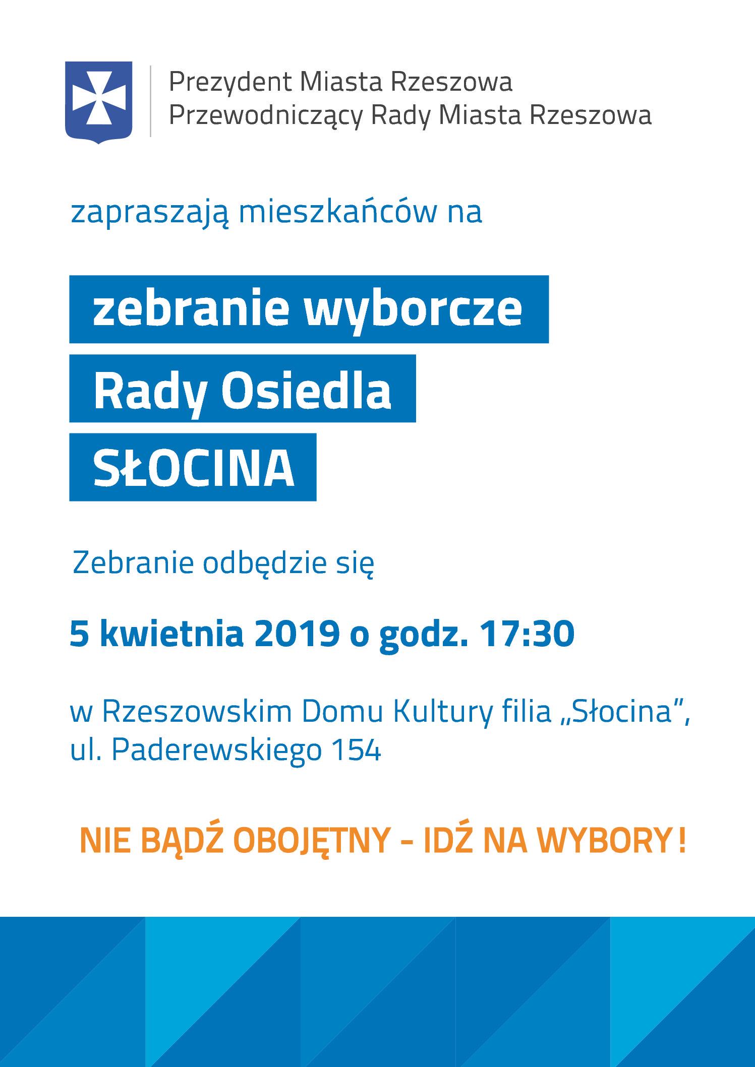 Wybory do Rady Osiedla Słocina