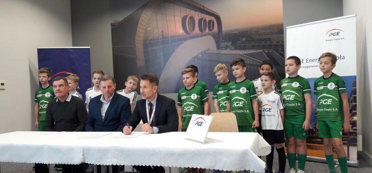 PGE EC sponsorem Korony Załęże