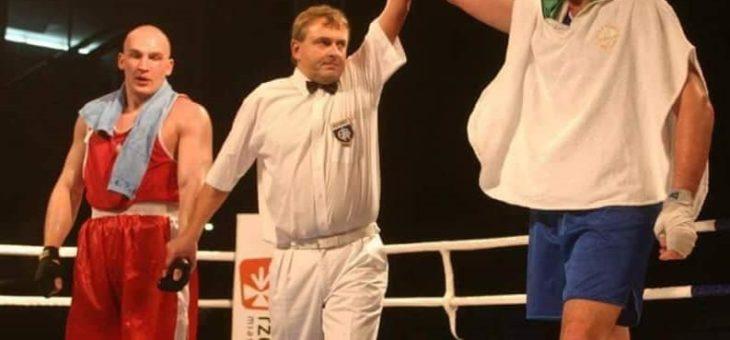 Tyson Fury boksował w Rzeszowie! Sędziował Maciej Dziurgot.