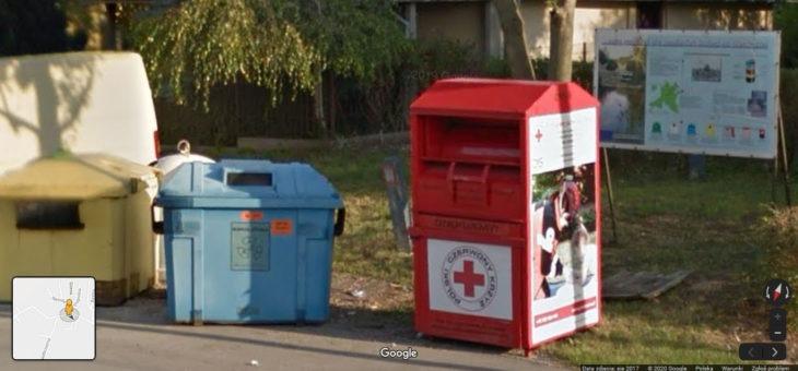 Usunięto kontenery selektywnej zbiórki odpadów