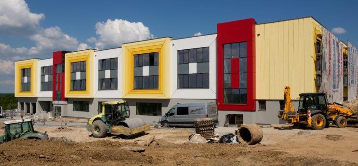 Budowa przedszkola i żłobka na os. Wilkowyja