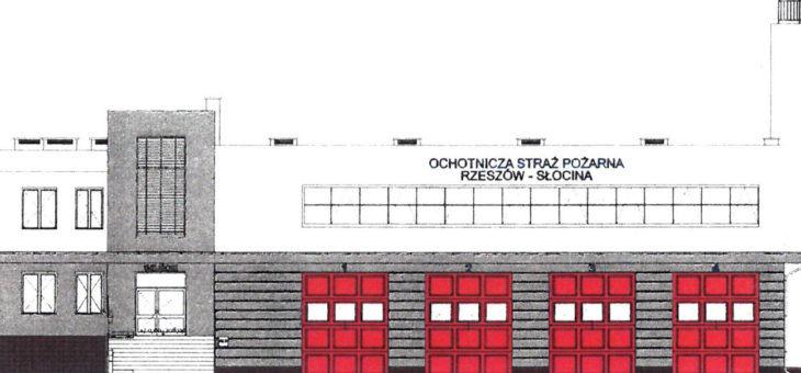 Budowa remizy strażackiej na Słocinie