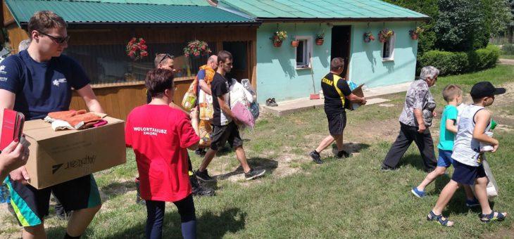 """""""Ludzi dobrej woli jest więcej"""". Rzeszów powodzianom – akcja pomocy poszkodowanym."""