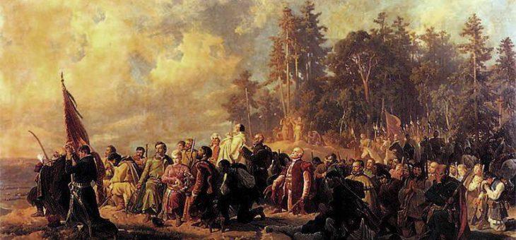 Bitwa na prawym brzegu Wisłoka i polach wsi Pobitno. Dzisiaj 251. rocznica tego wydarzenia.