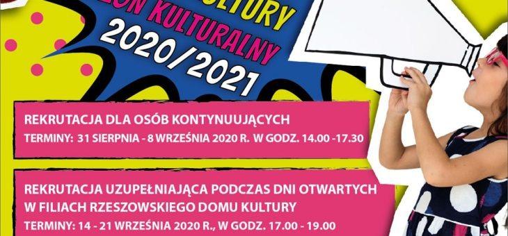 Rzeszowski Dom Kultury prowadzi zapisy na zajęcia