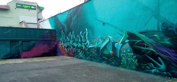 Mural przy ul.Krakusa